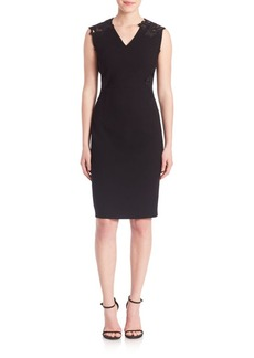 Elie Tahari Benita Cut Dress