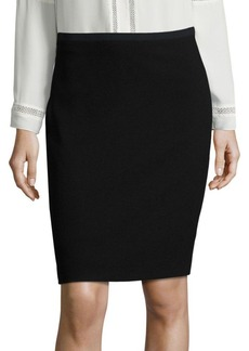 Elie Tahari Bennet Crepe Pencil Skirt