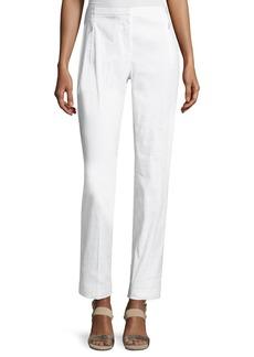 Elie Tahari Bennet Linen-Blend Pants