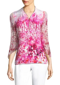 Benny Wool Floral Blouse