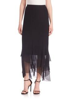 Elie Tahari Bensa Silk Skirt