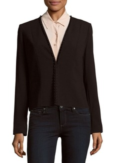 Elie Tahari Binx Collarless Jacket