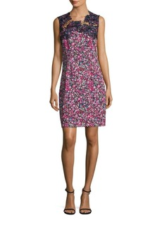 Elie Tahari Blake Floral Sheath Dress
