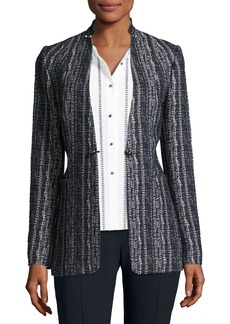 Elie Tahari Bonnie Tweed Blazer Jacket