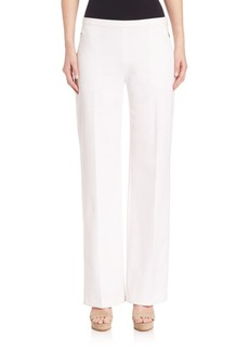 Elie Tahari Cady Cotton Blend Pants
