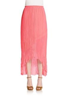 Elie Tahari Caitlin Hi-Lo Skirt