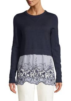 2cf572896b574 Elie Tahari Joan Sleeveless Wool Turtleneck Sweater