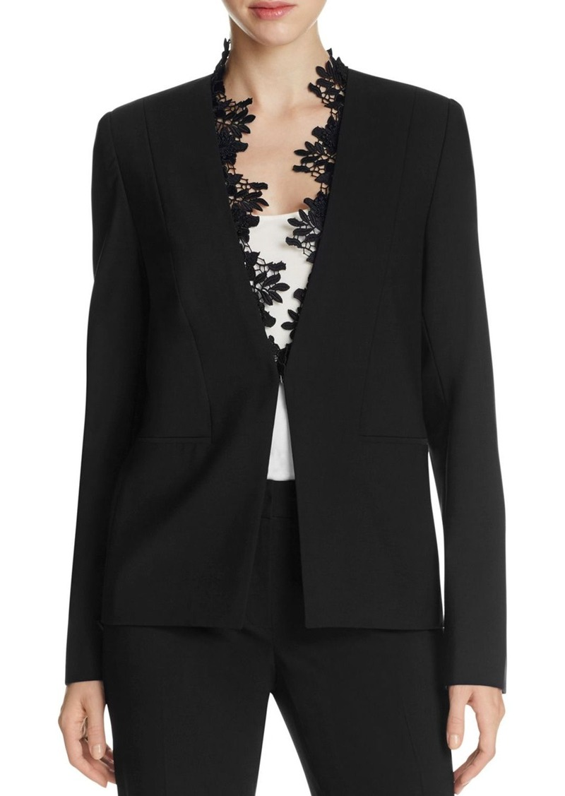 Elie Tahari Carita Lace Trim Jacket - 100% Exclusive