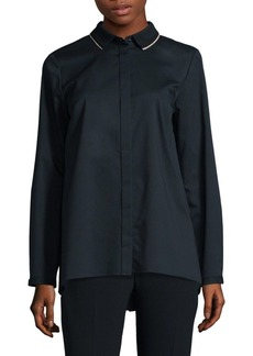 Elie Tahari Carly Long-Sleeve Blouse