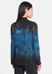 Elie Tahari 'Carmen' Print Silk Georgette Blouse