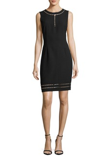 Elie Tahari Carol Sleeveless Cutout Sheath Dress