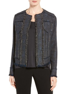 Elie Tahari 'Carol' Tweed Jacket