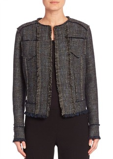 Elie Tahari Carol Tweed Jacket