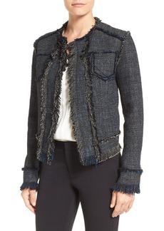 Elie Tahari 'Carol' Tweed Jacket