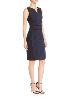Elie Tahari Cassandra Sheath Dress