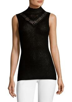 Elie Tahari Cheresia Wool Turtleneck Sweater