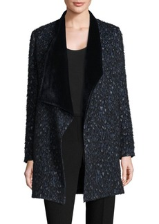 Christina Open Front Reversible Coat