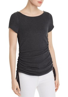 Elie Tahari Ciska Ruched Top
