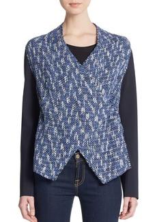 Elie Tahari Claire Tweed Jacket