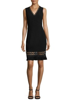 Elie Tahari Clarissa Crepe Dress
