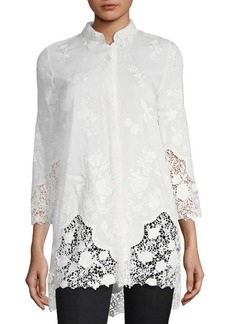 Clark Embroidered Blouse