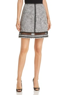 Elie Tahari Cochi Tweed Skirt