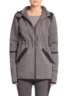 Elie Tahari Colorblock Zip-Front Jacket