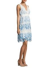 Elie Tahari Crocheted Lace Dress