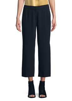 Elie Tahari Cropped Wide Leg Pants
