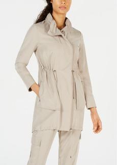 Elie Tahari Daria Soft Utility Trench Coat