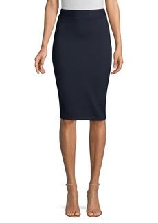 Elie Tahari Deena Ponte Pencil Skirt