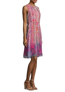 Elie Tahari Demetria Silk Dress