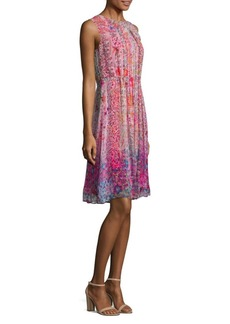 Elie Tahari Demetria Silk Dress