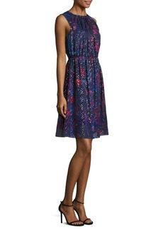 Elie Tahari Demetria Sleeveless Dress