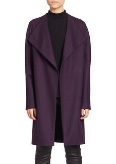 Elie Tahari Dez Open-Front Coat