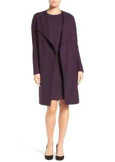 Elie Tahari 'Dez' Stretch Wool Topper