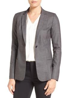 Elie Tahari 'Dorinda' One-Button Jacket