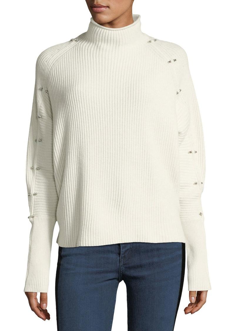 4de7dbf2773b5 Elie Tahari Elie Tahari Easton Studded Turtleneck Sweater