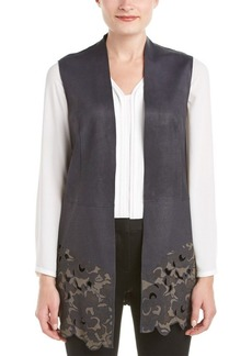 Elie Tahari Elie Tahari Leather Vest