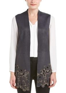 Elie Tahari Elie Tahari Leather Vest