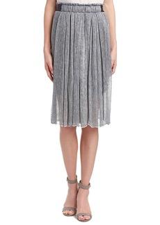 Elie Tahari Elie Tahari Linen-Blend Skirt