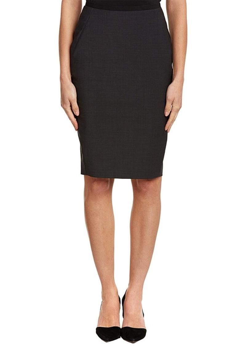 Elie Tahari Elie Tahari Wool-Blend Skirt