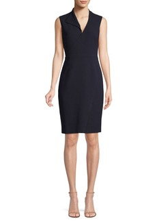 Elie Tahari Elodie Structured Crepe Dress