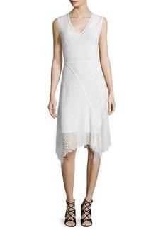 Elie Tahari Eloise Embroidered-Lace Sheath Dress