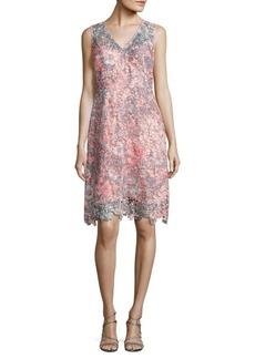 Elie Tahari Elora Floral Lace Dress