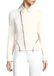 Elie Tahari Emalia Leather Jacket