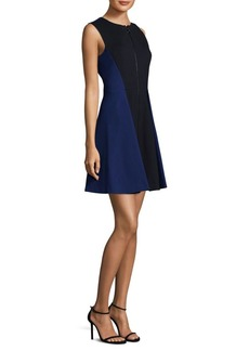 Elie Tahari Embline A-Line Dress