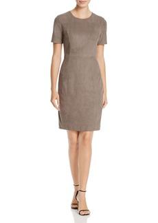 Elie Tahari Emily Faux Suede Sheath Dress - 100% Exclusive