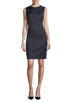 Elie Tahari Emory Sleeveless Sheath Dress