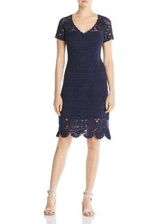 Elie Tahari Esme Crochet Dress